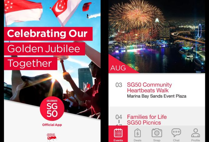 Celebrate SG50 Mobile App Your must have Jubilee Weekend fun guide: Day 4