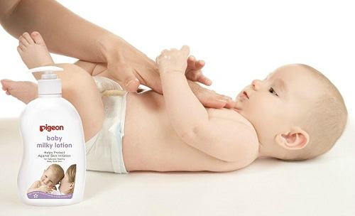 Pigeon Sakura Baby Lotion - moisturising protection for baby's on the move