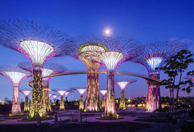 sg50 gardens by the bay