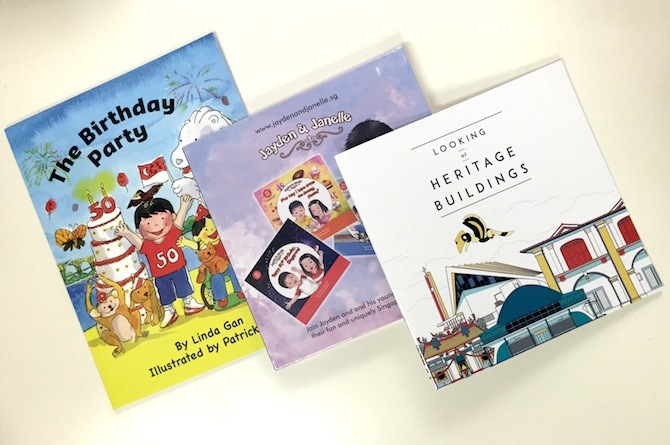 Win a special set of fun children's books for SG50