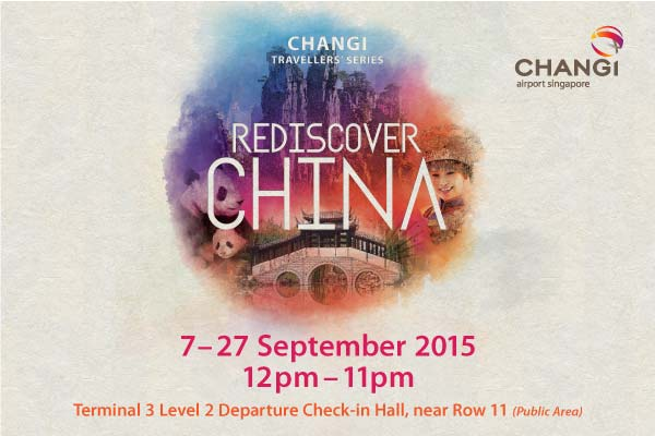Rediscover China at Changi Airport