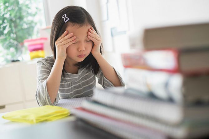 anxiety attack, disorder, children, child, stress, Singapore