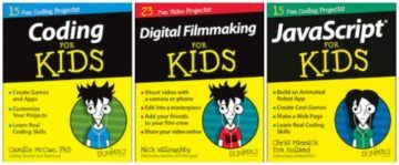 For kids Dummies 1 360x149 Why kids should code and how you   yes, you, mum & dad!   can learn with them