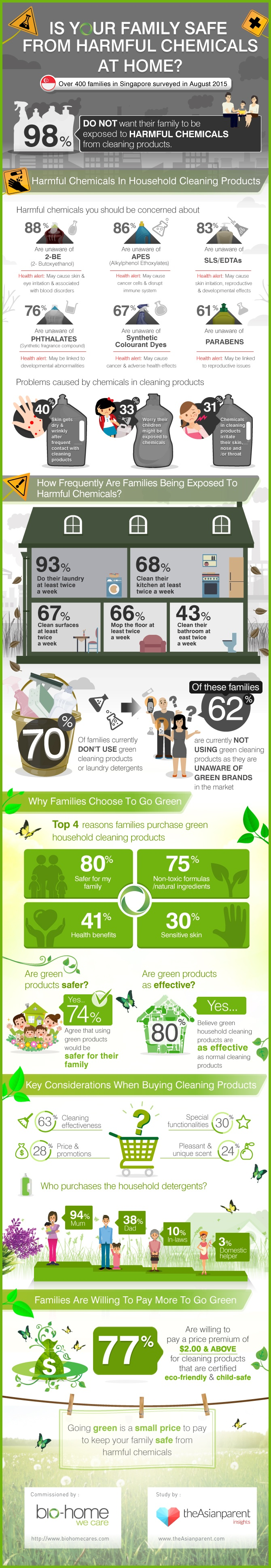Household Cleaning Products Survey 2015 Infographic