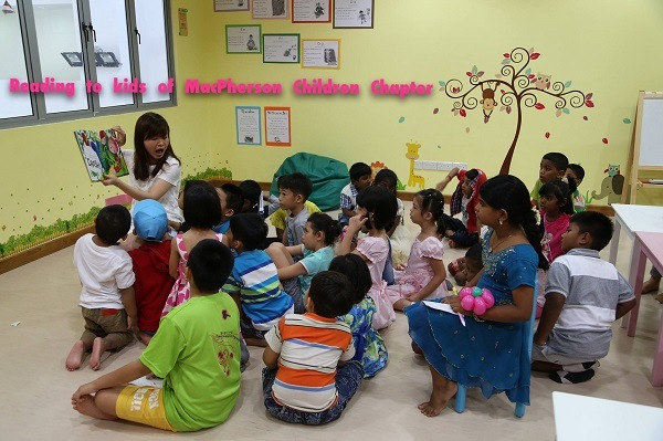 TPL reading to kids Tin Pei Ling: In the limelight as a public figure