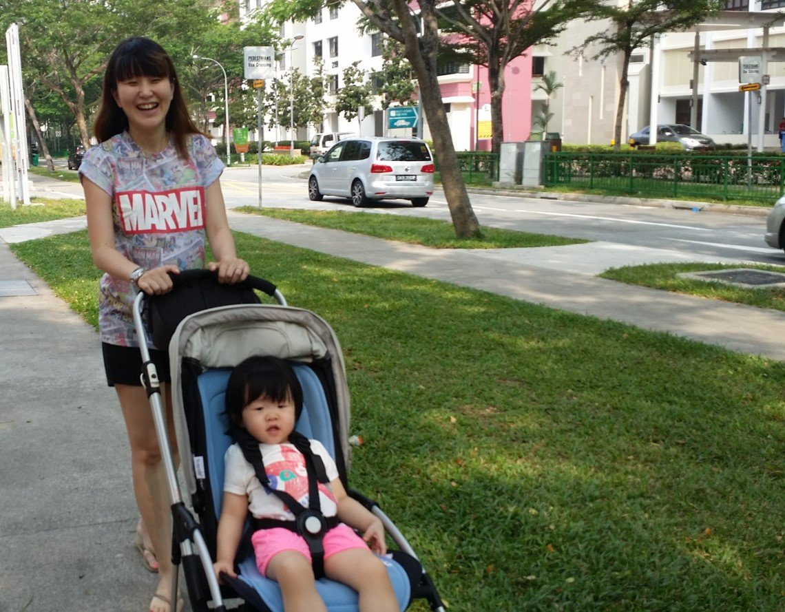 bugaboo bee stroller, review of bugaboo bee
