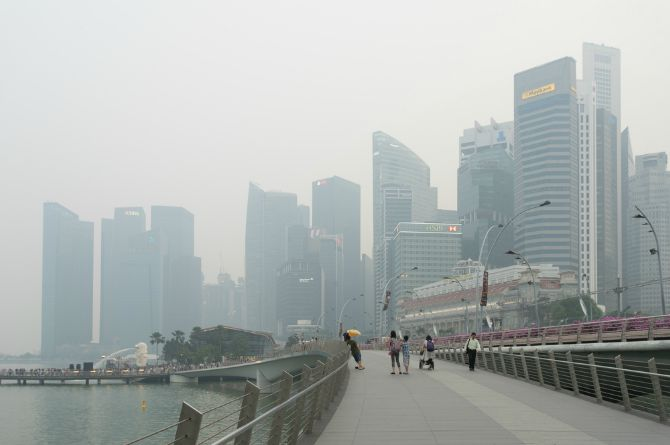 haze subsidy scheme singapore, haze in singapore, psi, n95, hazy