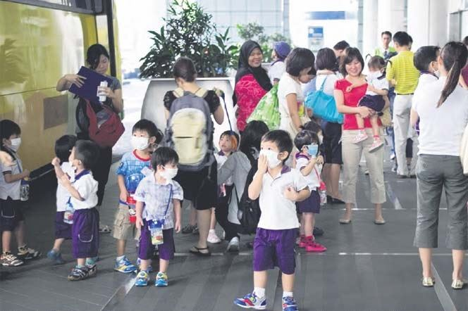 health xchange kids haze mask1 Singapore haze: Facts and precautions every family should know