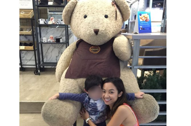 Kevryn Lim juggles playing the role of both father and mother to her young son. Image credit: Kevryn Lim
