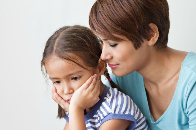 Letting your child know you are there anytime can go a long way in easing the transition