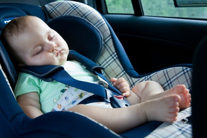 Do Not Let Your Baby Sleep In a Car Seat Or Rocker