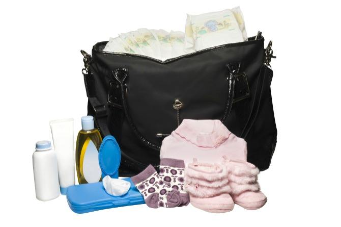 branded diaper bag, baby, essentials. shopping