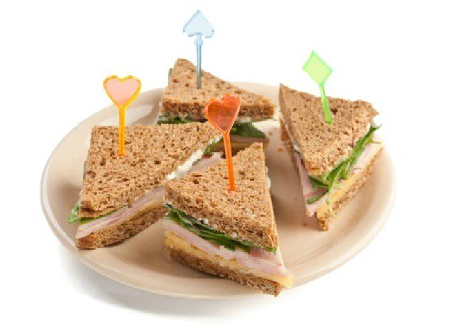 sandwich Start your child's day right with hearty whole grains