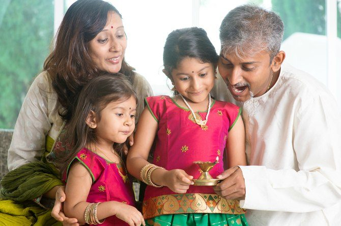 Diwali is a very important occasion for Hindu families in Singapore