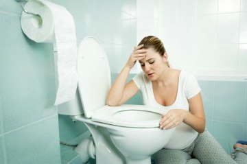 Morning sickness can happen at anytime of the day any number of times!