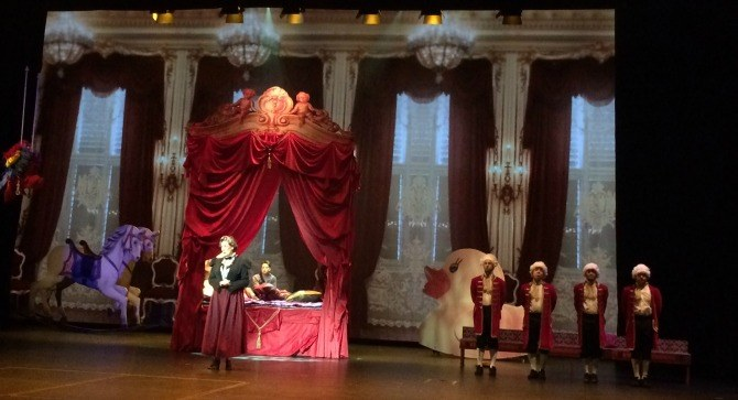 Cinderella Palace Tears, laughter and lots of foot tapping at Cinderella   A Fairly True Story