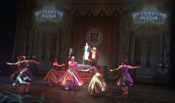 Cinderella ball Tears, laughter and lots of foot tapping at Cinderella   A Fairly True Story