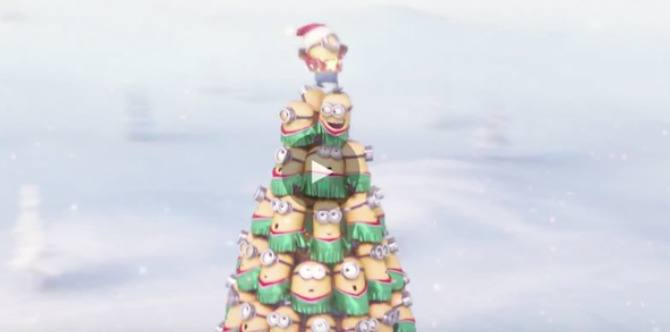 christmas song performed by the minions - Minions Christmas Song