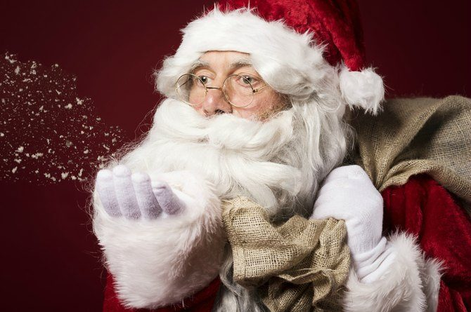 Santa Claus originated not from Finland but from Greece