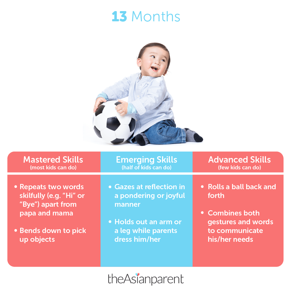 Toddler development and milestones: Your 1 year and 1 month old
