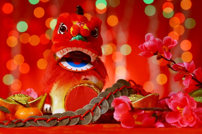 The lion dance during the Chinese New Year is a much cherished tradition
