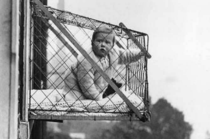 baby cage Your child's life depends on you: let's stop high rise building deaths now