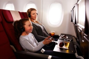 qantas inflight activities