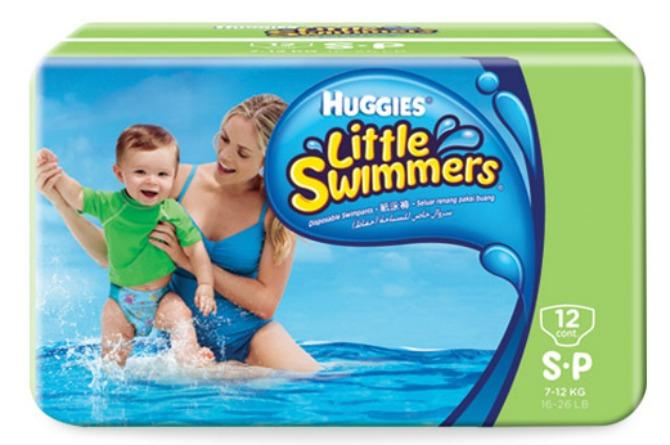 buying swim diapers, Huggies, baby, toddler, infant