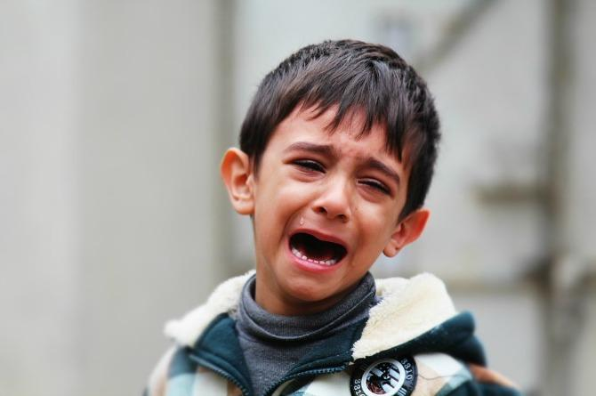 crying Raising boys to be gentlemen who are chivalrous, not sexist!