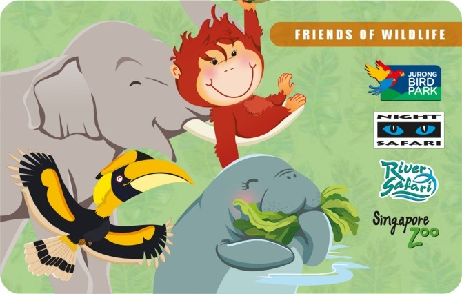 Friends of Wildlife cardface
