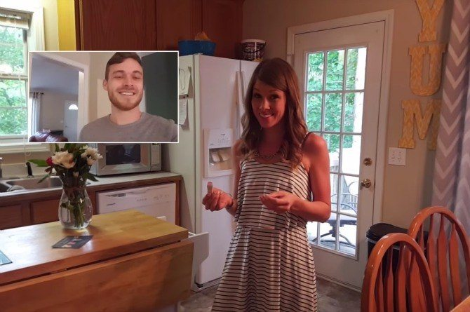 After Failed Vasectomy, He Surprises Wife With Pregnancy Announcement