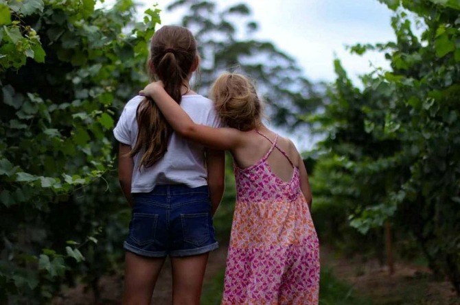 sisters Compassion: are you overlooking this important quality while raising your child?