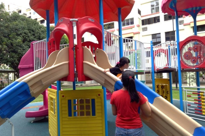 learn at the playground