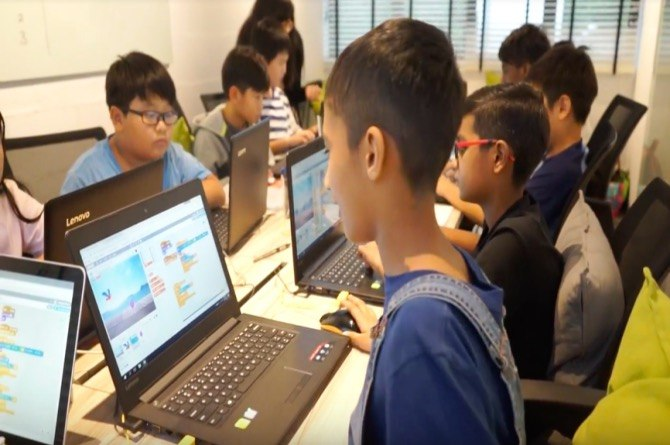 The Coding Lab at Discover Me Holiday Camp