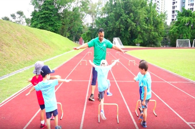Sport4Kids at Discover Me June holiday camp