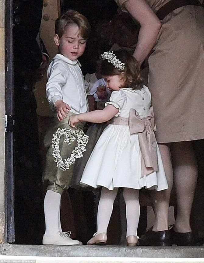 Princess Charlotte, Prince George got up to mischief at Pippa's wedding!