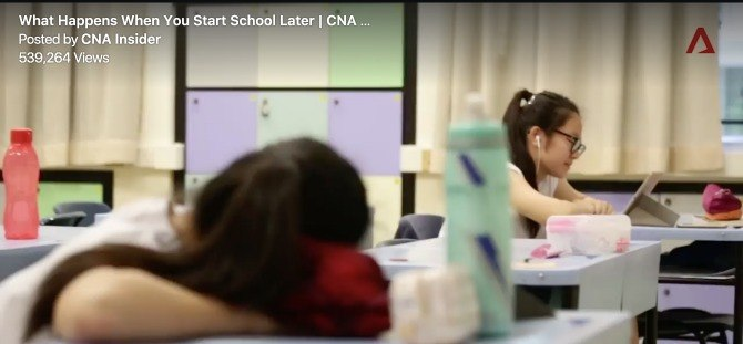 singapore schools start later 1 Your opinion: Should Singapore schools start 45 minutes later?