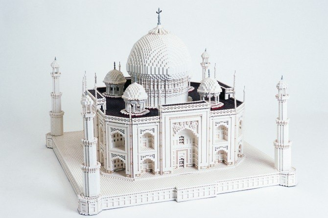lego Taj Mahal See some of the world's most impressive buildings right here in Singapore