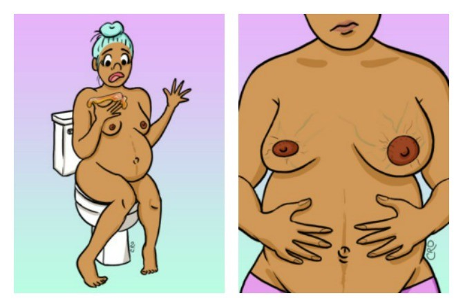 Pregnant mums, check out these oh-so realistic (and gross) pregnancy 'truths'