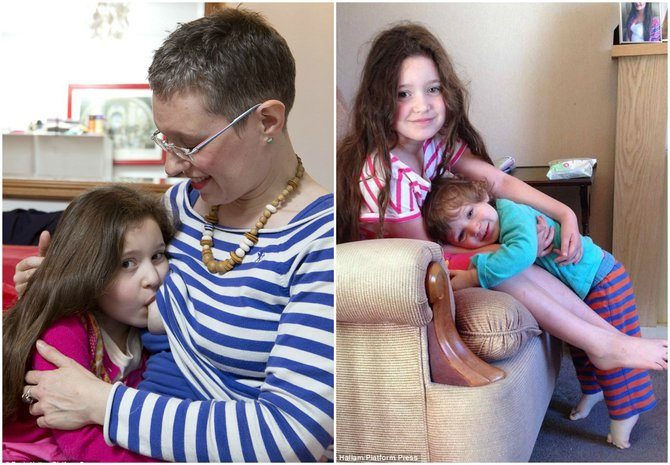 This mum breastfed her daughter for six years: Would you do the same?