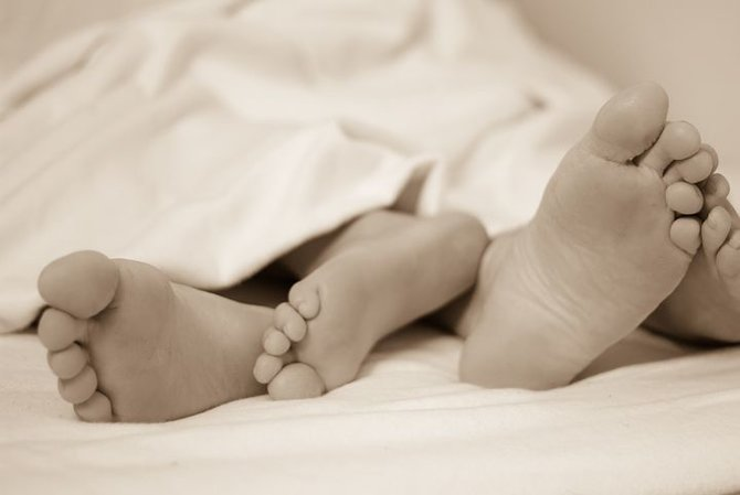 rsz feet 224680  480 Here's how many times you should have sex in order to conceive