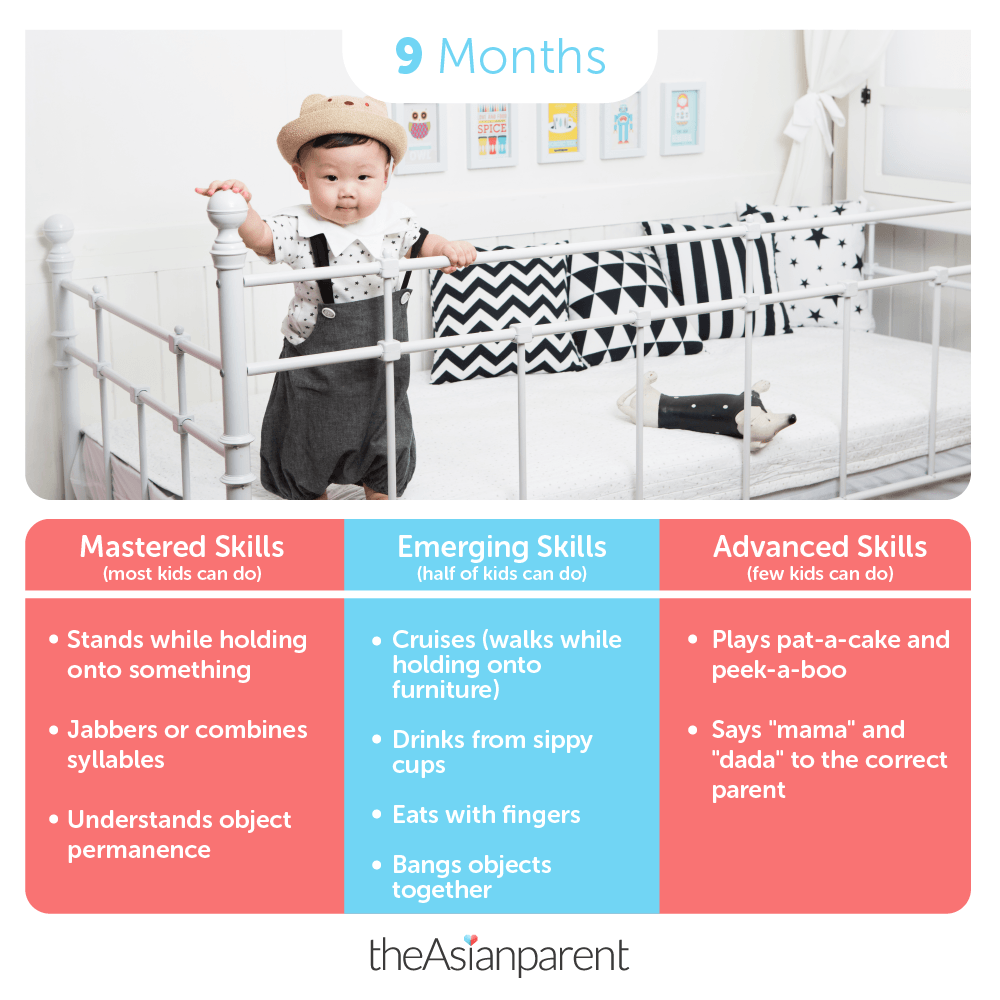 Baby development and milestones: your 9 month old
