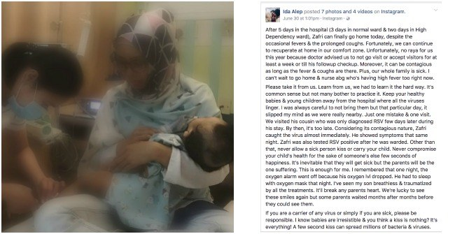 6-month-old baby gets RSV infection, and his mummy has this warning for all parents!