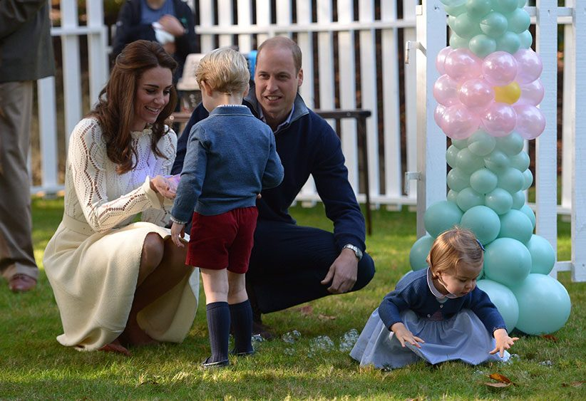 prince george garden Kate Middleton is hiring new 'super nanny' for Prince George and Princess Charlotte