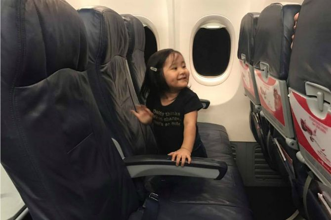 travelling alone with a toddler