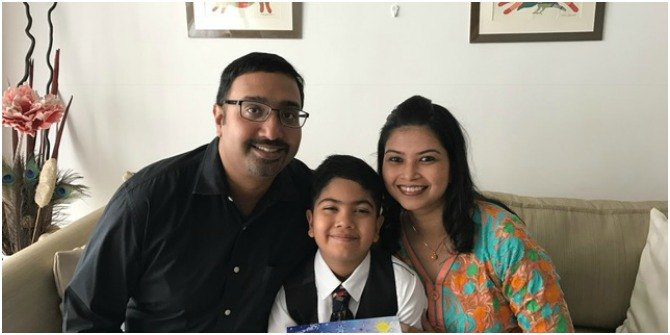 rishav gupta 4 This 8 year old boy authored and published his own book in Singapore!