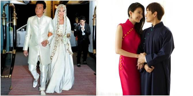 Traditional wedding dresses in singapore 6 celebrities who rocked lead image junglespirit Choice Image