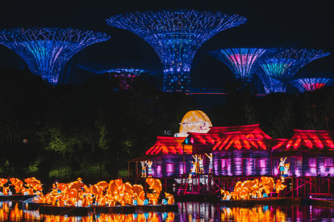 mid autumn festival singapore 2017 gardens by the bay - Garden By The Bay Mid Autumn Festival 2017