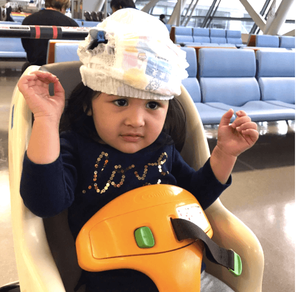 Osaka with kids: pack diapers