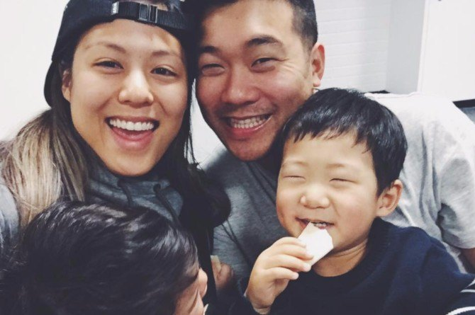 Sydney resize Celebrity YouTubers AndymetSonia share 6 life hacks all millennial parents should know when travelling with kids